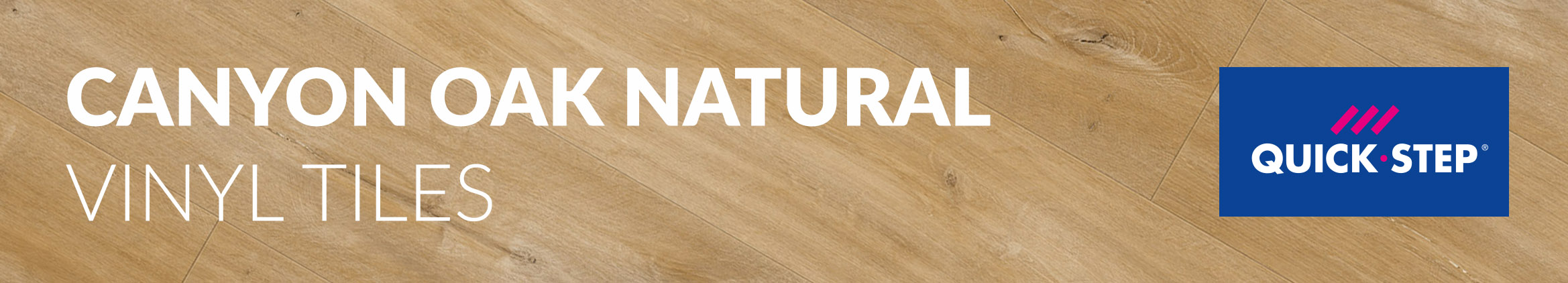 Canyon Oak Natural Quick Step Vinyl