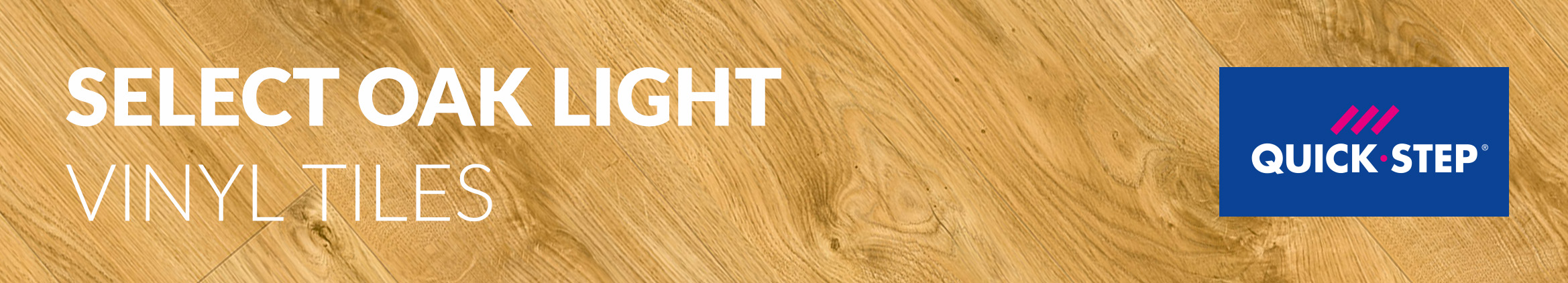 Select Oak Light Quick Step Vinyl